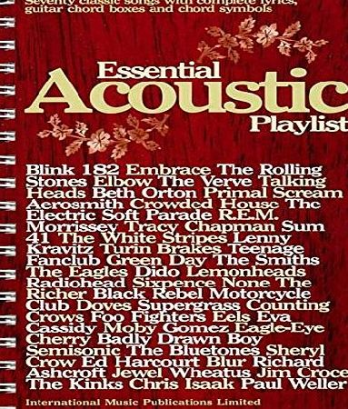Faber Music Essential Acoustic Playlist (Guitar Chord Songbook)