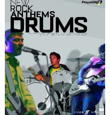 New Rock Anthems: (Drums) (Authentic Playalong)
