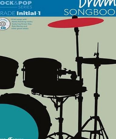 Faber Music The Faber Graded Rock amp; Pop Series: Drums Songbook (Initial - Grade 1) - Sheet Music, CD