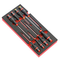 8 Piece Protwist Roller Cabinet Module Mixed Slotted and Phillips Screwdriver Set