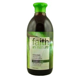 FAITH In Nature Shower And Bath Gel Chocolate