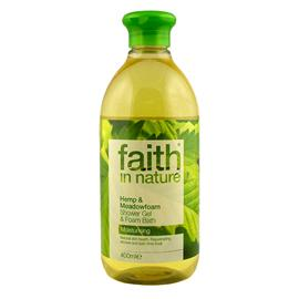 FAITH In Nature Shower And Bath Gel Hemp And