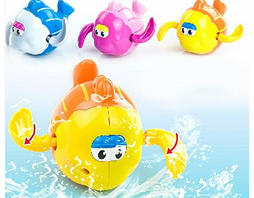 Swimming Fish Toy Bath Toy for Kids(one Piece)