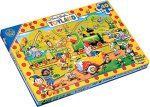 Falcon Noddy 40 Piece Chunky Woood Puzzle
