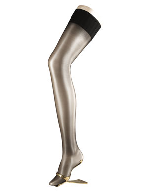 Ladies 1 Pair Falke Diamond 10 Ultra Transparent Stockings In 4 Colours Crystal