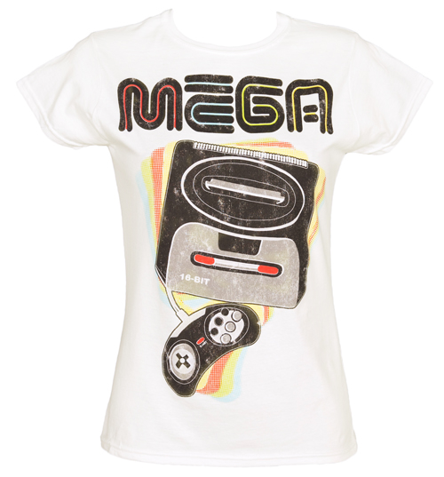Ladies MEGA Gamer T-Shirt from Fame and Fortune