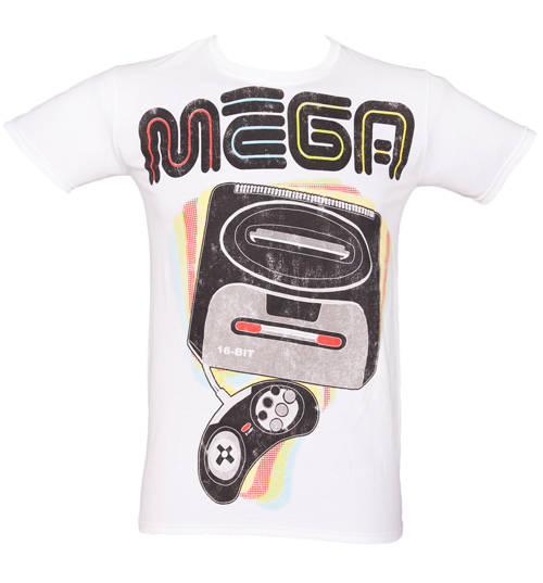 Mens MEGA Gamer T-Shirt from Fame and Fortune