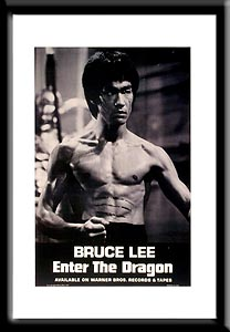 Bruce Lee and#39;Enter The Dragonand39; film poster