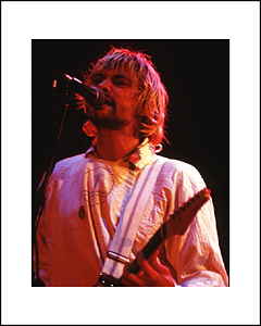 Kurt Cobain unsigned 8x10 photo
