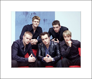 Westlife unsigned 10x8and#39;and39; photo