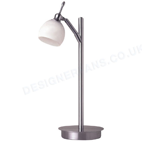 Fantasia Florence stainless steel table lamp.