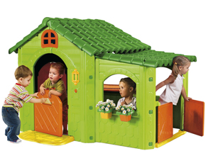 Outdoor Greenhouse Playhouse