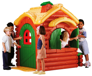 Woodland Cottage Outdoor Playhouse with