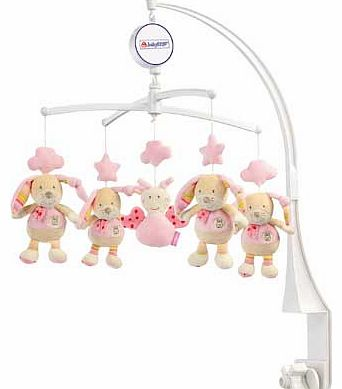 Bubbly Crew Musical Hare Baby Mobile