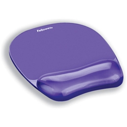 Crystal Mousepad and Wristrest Purple