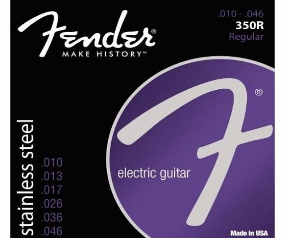 350 Stainless Steel Ball End Electric Guitar Strings (09-42/10-46)10-46