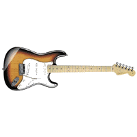 Standard Strat MN- Brown Sunburst