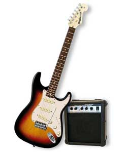 Starcaster Electric Guitar Pack 3TS