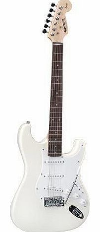 Starcaster Strat Electric Guitar White