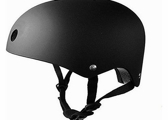Bike / Bmx / Scooter / Skate Helmet, Available in 7 Colours (Black, 50-54cm)