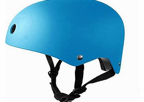 Bike / Bmx / Scooter / Skate Helmet, Available in 7 Colours (Blue, 54-58cm)