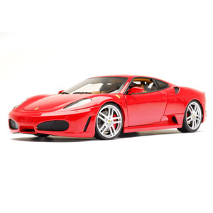 ferrari F430 coupe - Red/tan interior 1:18