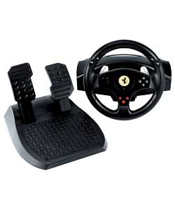 GT Racing Wheel and Pedal Set - PS3/PS2/PC