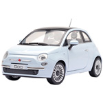 fiat 500 Light Blue 2007