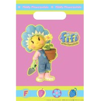 and The Flowertots Party Loot Bags - 8 in a pack