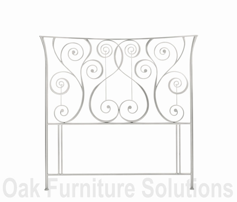Alloy Headboard - 135cm - Double and