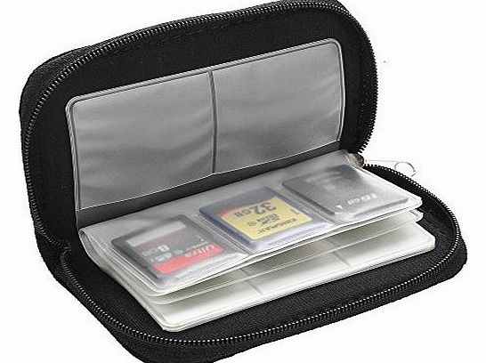 Finejo CF Micro SD SDHC MMC Memory Card Holder Storage Carry Pouch Wallet Case