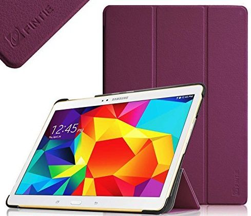 Samsung Galaxy Tab S 10.5 (10.5-Inch) Smart Shell Case - Ultra Slim Lightweight Stand Cover with Auto Sleep/Wake Feature, Purple