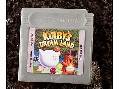 Game Boy Cartridge Soaps (Kirbys Dreamland)