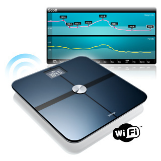 WiFi Bathroom Scales (Black)