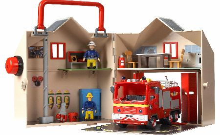 Deluxe Fire Station Playset