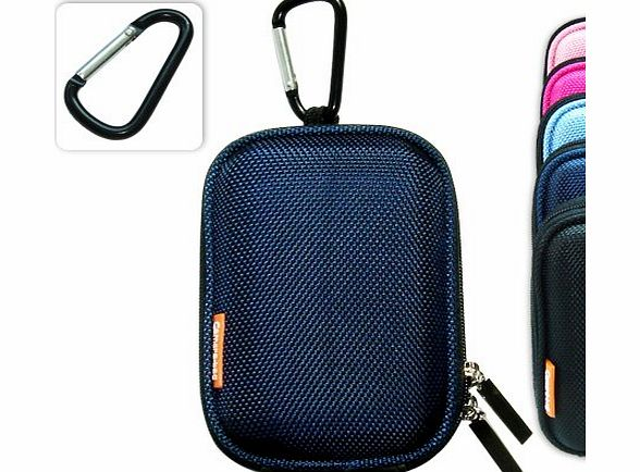 New first2savvv semi-hard blue camera case for canon Samsung PL210 (BDC0102eva)