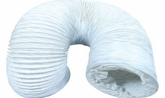 Extra Strong Long Vent Hose for Indesit Tumble Dryers (4m / 4``)