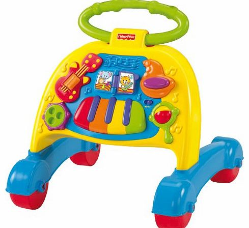 FP Infant Brilliant Basics Musical Activity Walker for 6 Months and Above (Multicoloured)