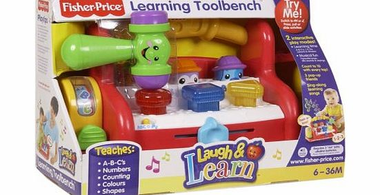 Laugh and Learn Tool Bench