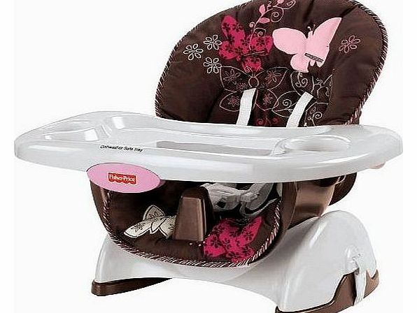 Mocha Butterfly Space Saver High Chair