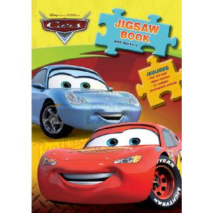 Flair Funtastic Cars Jigsaw Book