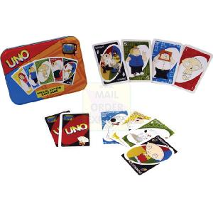 Flair Licensed Uno Family Guy