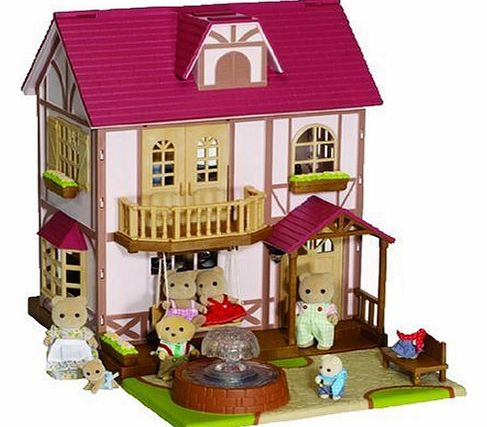 Sylvanian Families Babblebrook Grange Dolls House (Figures Not Included)