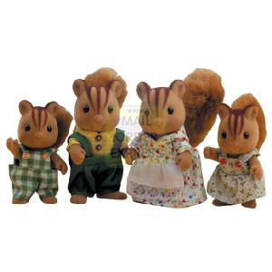 Flair Sylvanian Families Squirrel Family