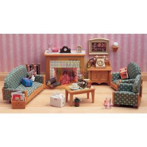 Flair sylvanian families victorian living room review Sylvanian families luxury living room set