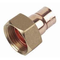 Straight Tap Connector 15mm x  Pack of 10