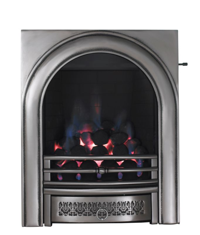 Focal Point Arch Full Depth Gas Inset Fire with Finger Slide Control