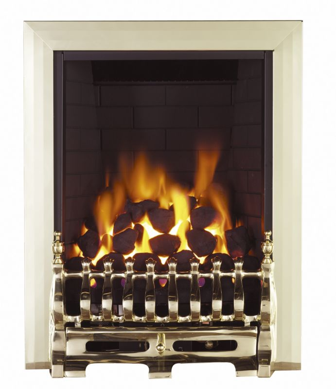 Focal Point Blenheim Fan Flue Gas Inset Fire