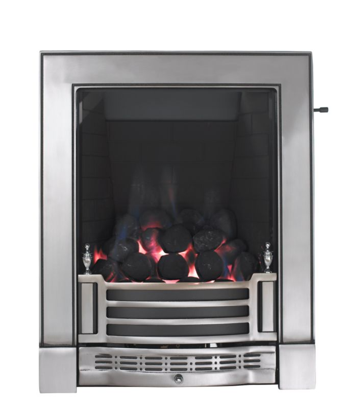 Focal Point Finsbury Full Depth Gas Inset Fire with Finger Slide Control