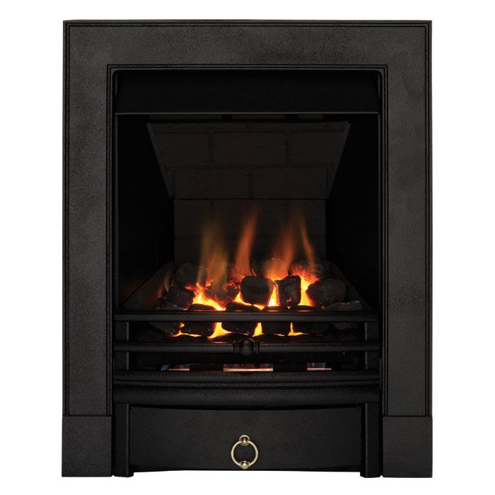 Focal Point Soho Multiflue Gas Inset Fire Black